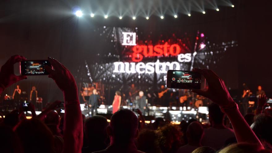 Una imagen del concierto en Granada de la gira El Gusto es Nuestro / N.C.