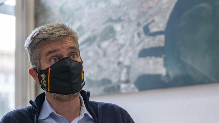 El concejal de Ciudadanos y portavoz en Santander, Javier Ceruti.