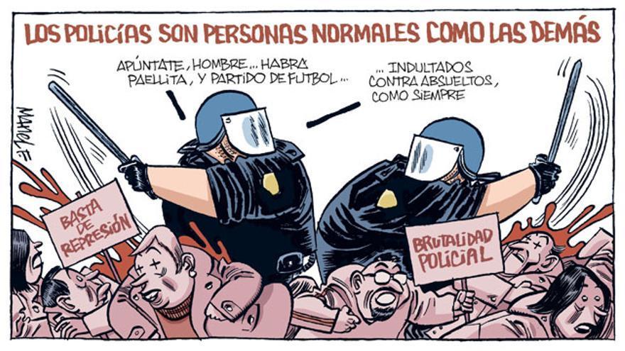 Los policías