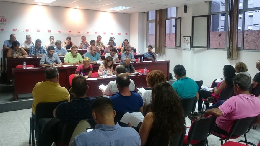 Reunión del Comité Insular del PSOE de La Palma.