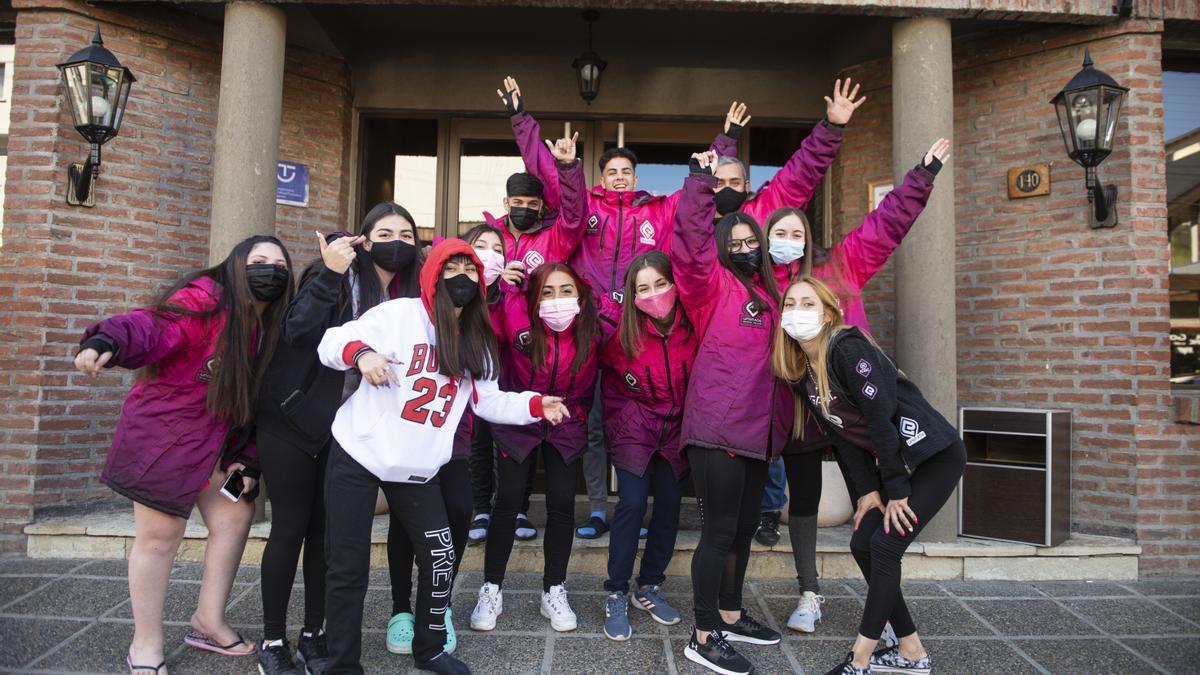 El turismo estudiantil retornó a San Carlos de Bariloche.