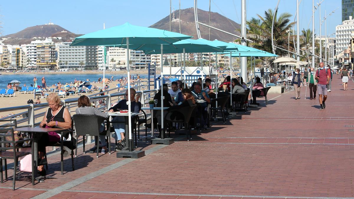 Terraza de Las Palmas de Gran Canaria