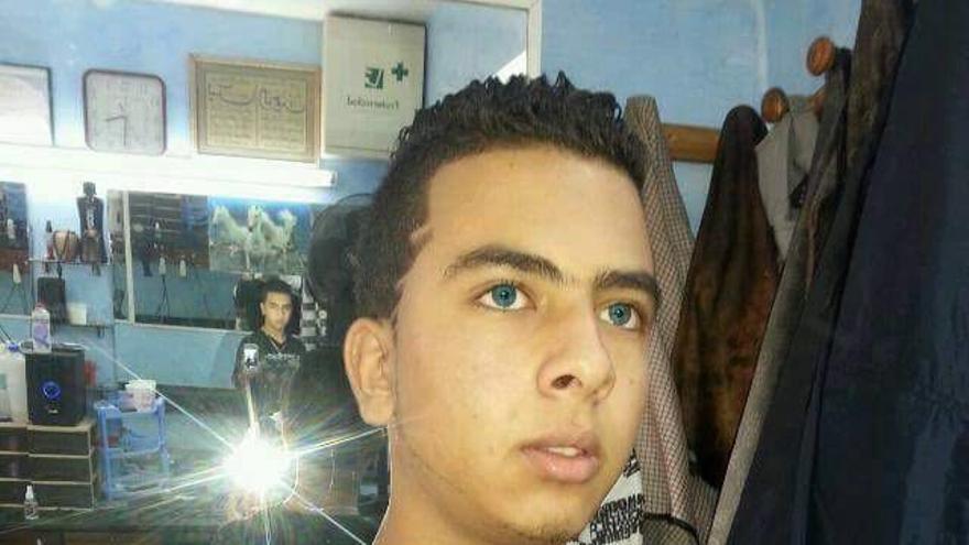 Adil Chtoui, 17 años | Imagen cedida a eldiario.es