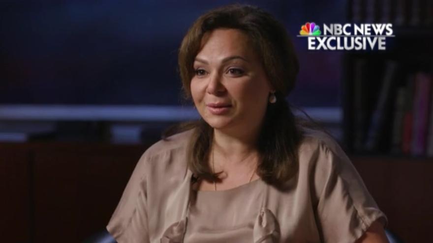 """""""Mi encuentro con el hijo de Trump fue privado, no tiene nada que ver con nadie del Gobierno ruso"""", asegura la abogada Natalia Veselnitskaya."""