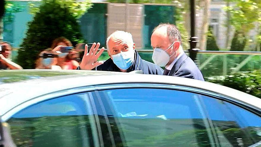 Los peritos examinan si José Luis Moreno ha cubierto los 6 millones de fianza