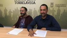 Iván Martínez y Alejandro Pérez en rueda de prensa.
