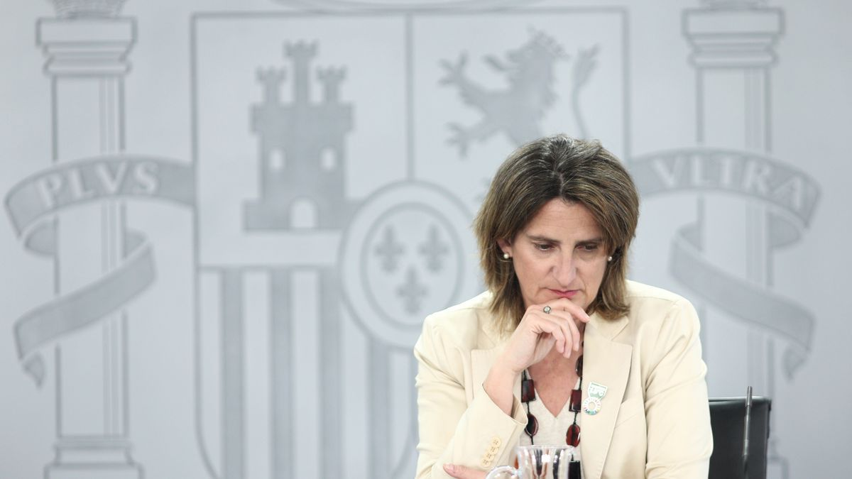 La vicepresidenta para la Transición Ecológica y el Reto Demográfico, Teresa Ribera, tras un Consejo de Ministros