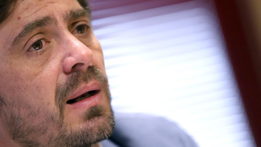 Jorge Marichal, en un momento de la charla periodística