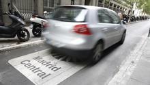 La contaminación cayó en toda la capital un 11% durante el primer año de funcionamiento de Madrid Central