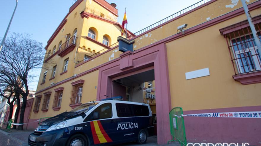 Un furgón policial sale de la Comisaría de Campo Madre de Dios | MADERO CUBERO
