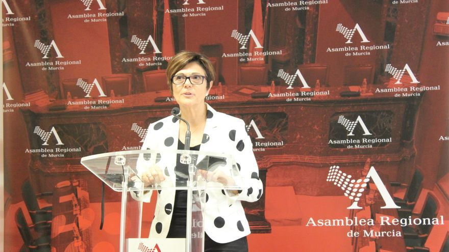 La nueva presidenta de la Asamblea Regional de Murcia, Rosa Peñalver / PSS