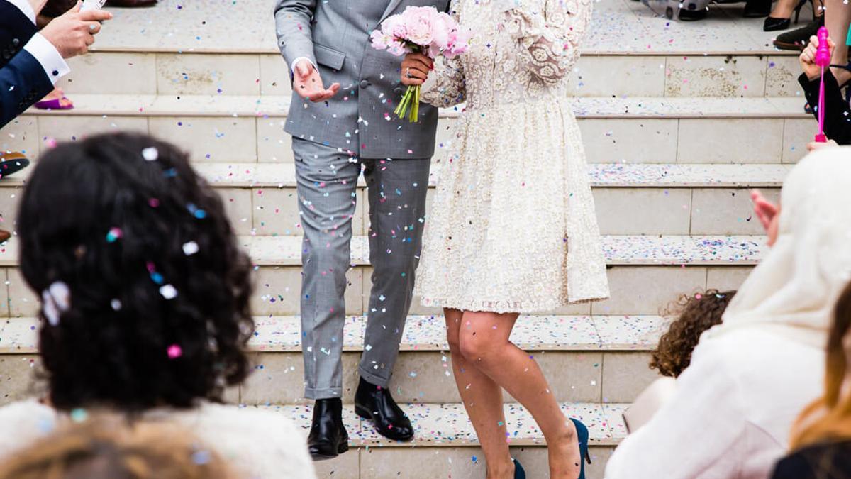 Una boda.
