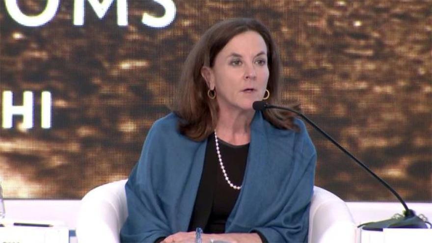 Nadia Schadlow, nueva miembro del consejo internacional del Banco Santander.