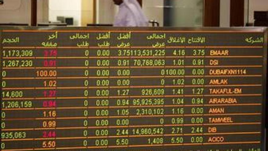 Imagen de la Bolsa de Dubai