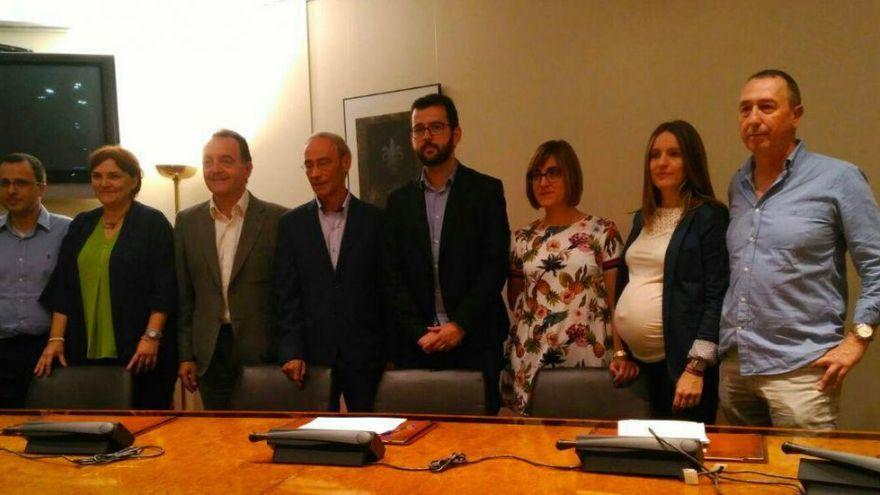 Los diputados valencianos progresistas hacen frente común contra los presupuestos