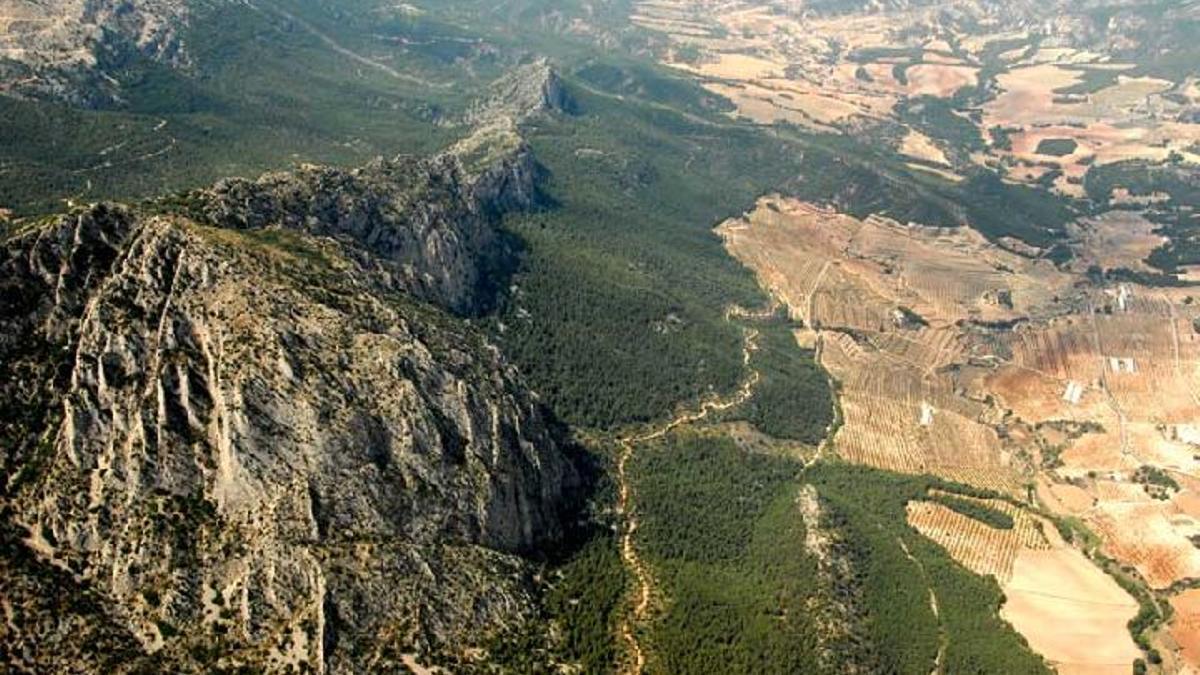 Panorámica de Sierra Espuña