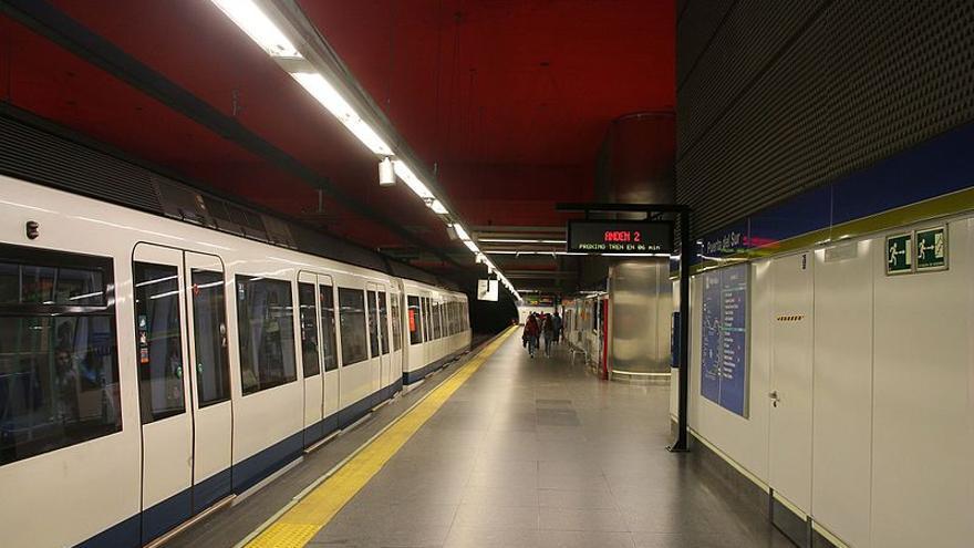Estación de Puerta del Sur, línea 12 de Metro. / Wikimedia Commons