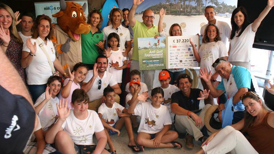 El torneo de golf benéfico se celebró en el sur de Gran Canaria