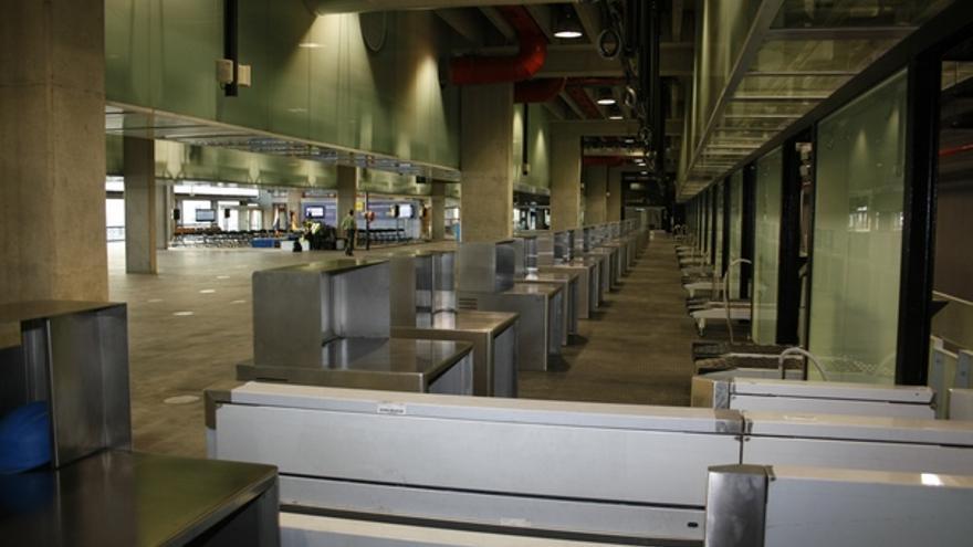 De las obras en la nueva terminal #5