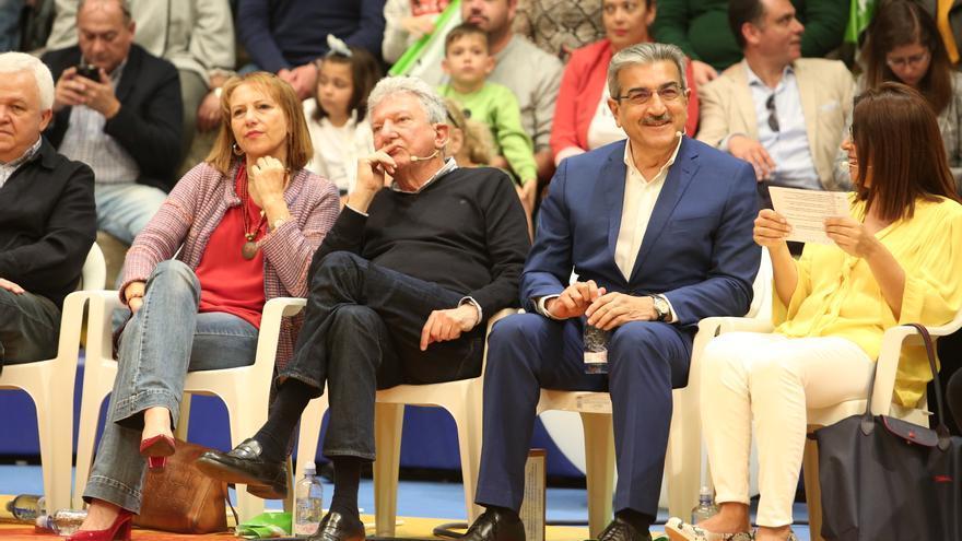 Presentación de las candidaturas de Nueva Canarias.  (Alejandro Ramos)