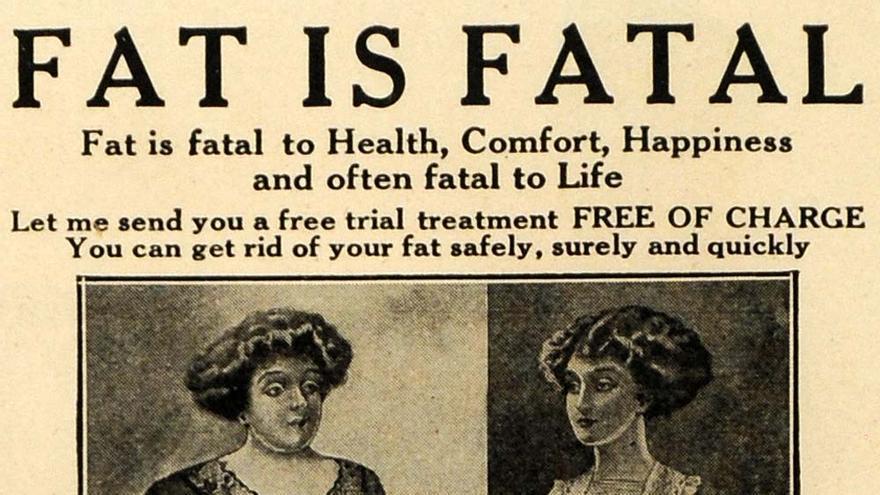 Última hora: Estar gordo es malo para la salud