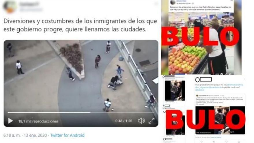 Videos de Estados Unidos que se han movido descontextualizados