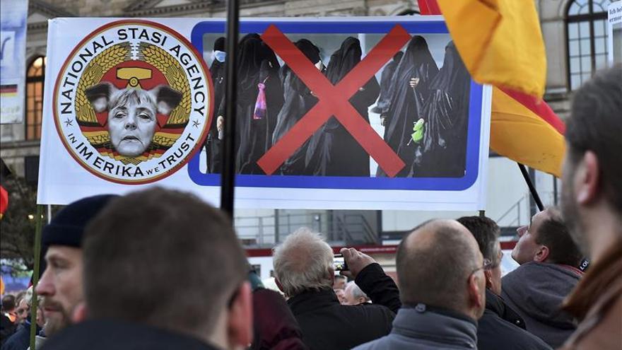 El ministro alemán de Justicia acusa a Pegida de sembrar el odio y la violencia