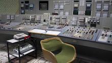 Detalle de la sala control número 3 de la central nuclear de Chernobil, en Ucrania.