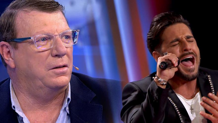 Los Morancos en 'Volverte a ver' / David Bustamante en 'La Voz Senior'
