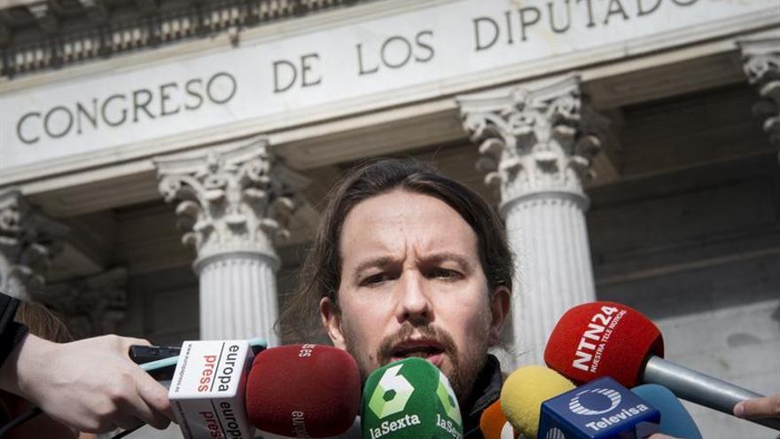 """Iglesias: """"Gane quien gane las primarias todos salimos reforzados en Podemos"""""""