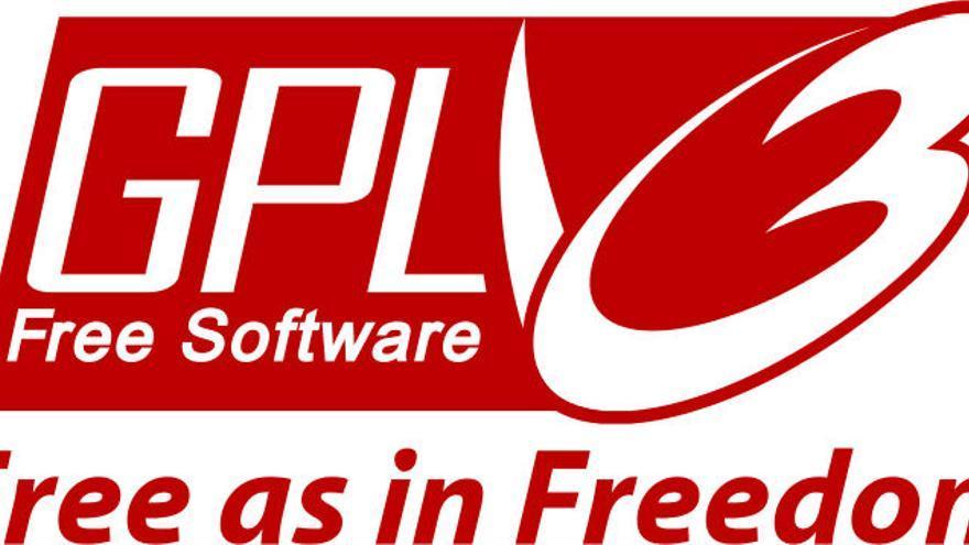 Logo de la licencia GPLv3 (Foto: Wikimedia Commons)