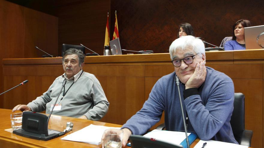 De izquierda a derecha, Carlos Slepoy y José María Galante.