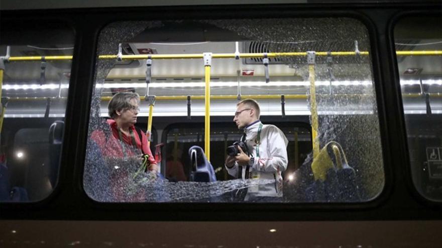 Disparan a un autobús de periodistas en los JJOO de Río