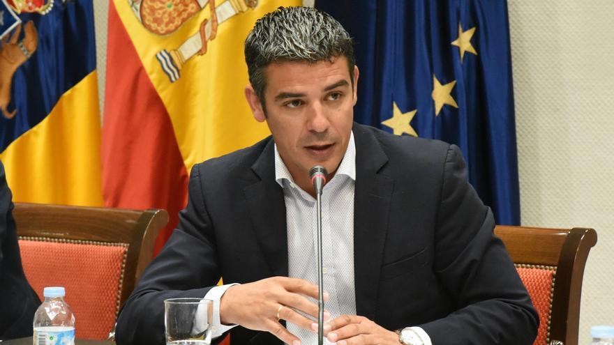 Narvay Quintero, consejero de Agricultura, Ganadería, Pesca y Aguas del Gobierno de Canarias.