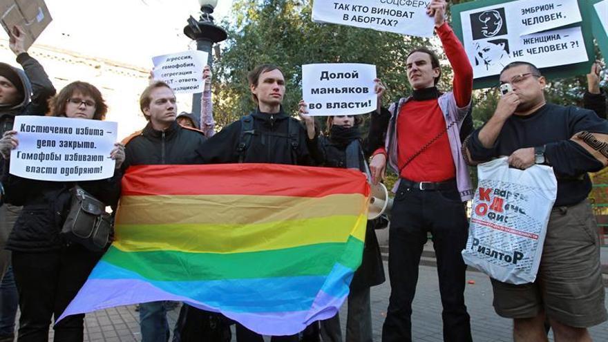 Estrasburgo falla que la ley rusa que prohíbe la promoción gay es discriminatoria