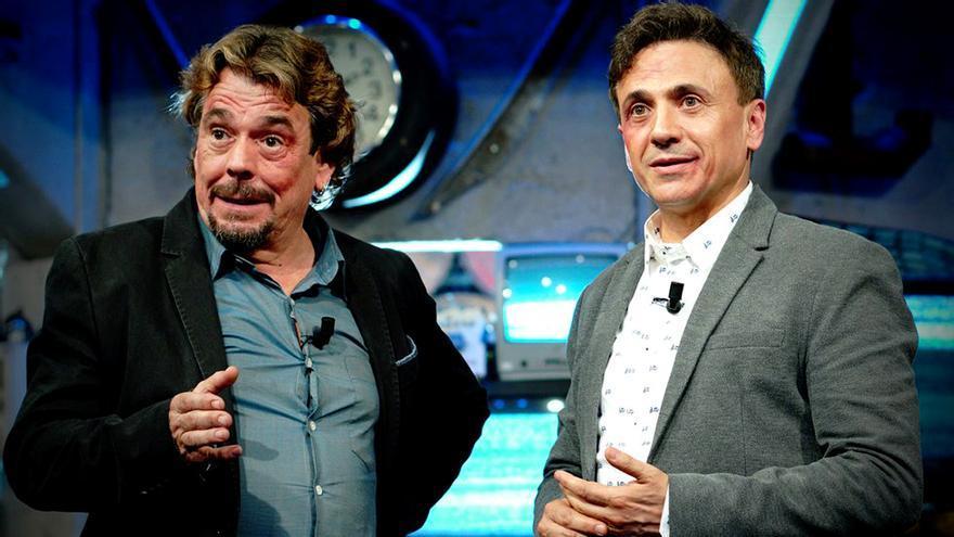 Juan Muñoz y José Mota en El Acabose