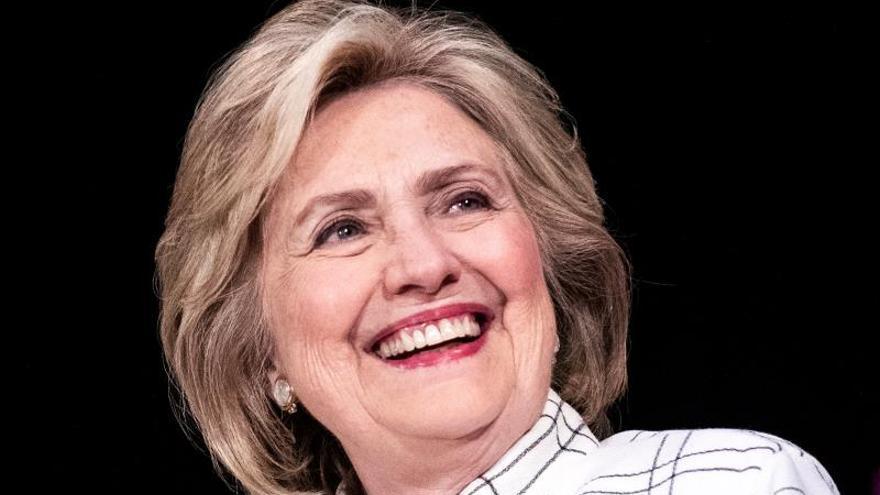 La excandidata presidencial estadounidense Hillary Clinton.