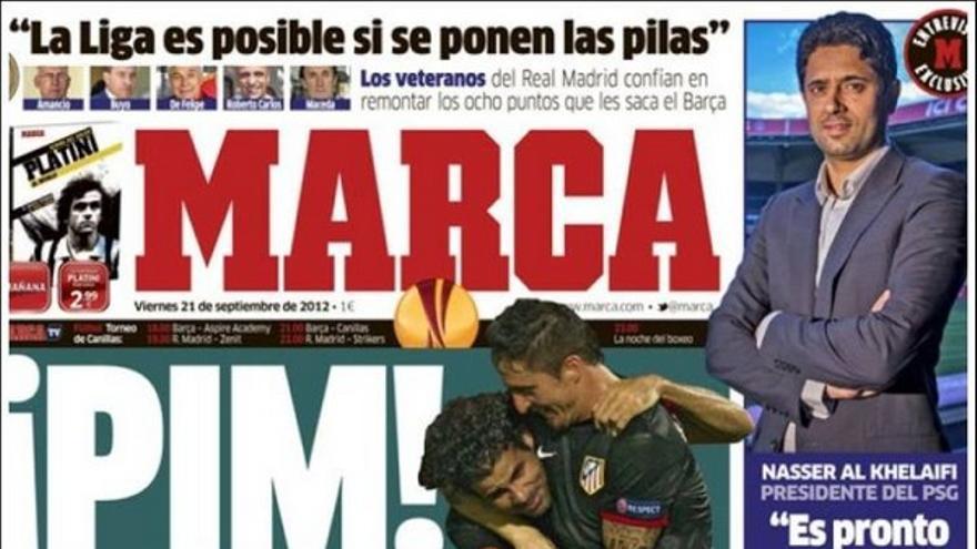 De las portadas del día (21/09/2012) #12