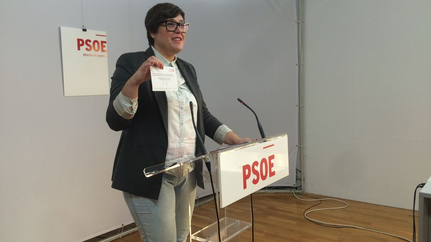 Presen López, diputada socialista