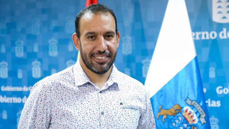 Jonás González, director general de Derechos Sociales del Gobierno canario.