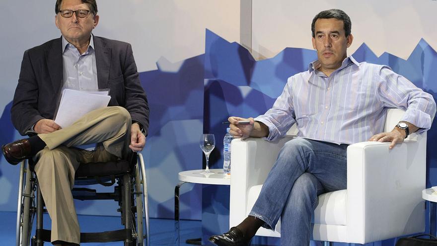 Francisco Vañó y Antolín Sanz en una imagen de archivo