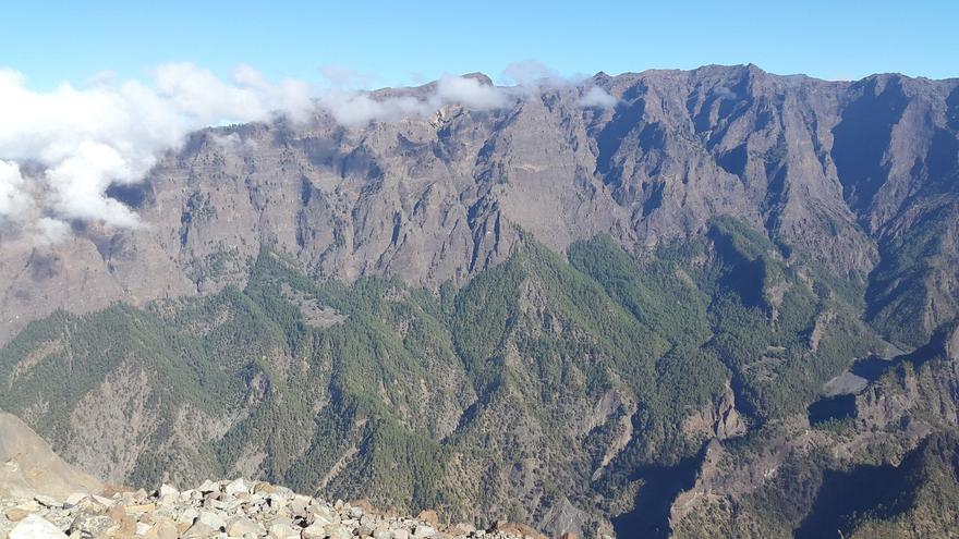 La Caldera de Taburiente es la joya de la corona de los espacios naturales protegidos de La Palma. Foto: PARQUE NACIONAL.