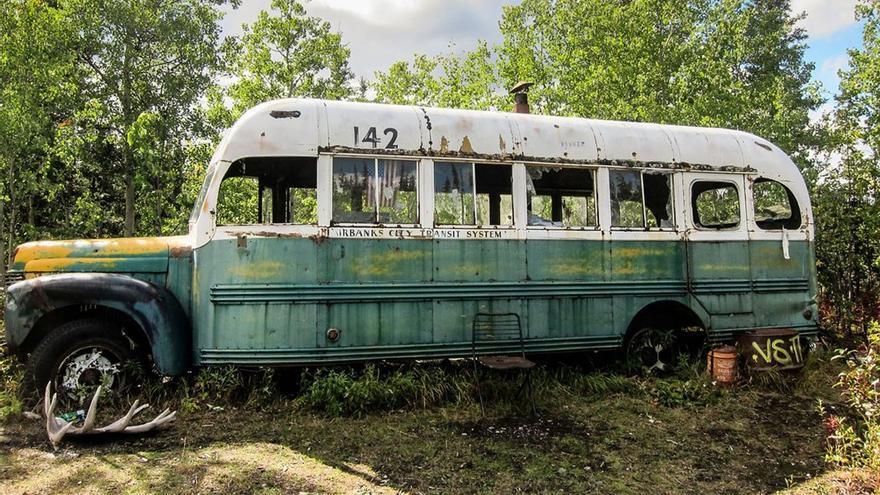 Autobús en el que McCandless pasó su estancia. (DP).