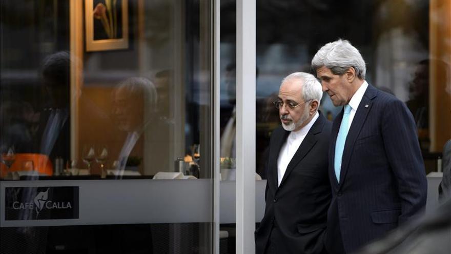 Kerry abordará el programa nuclear con su colega iraní en Alemania