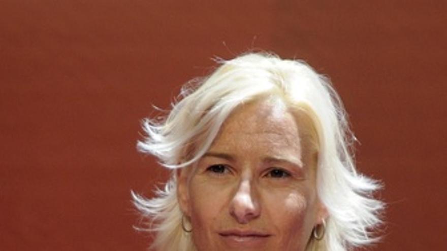 La Atleta Española Marta Domínguez