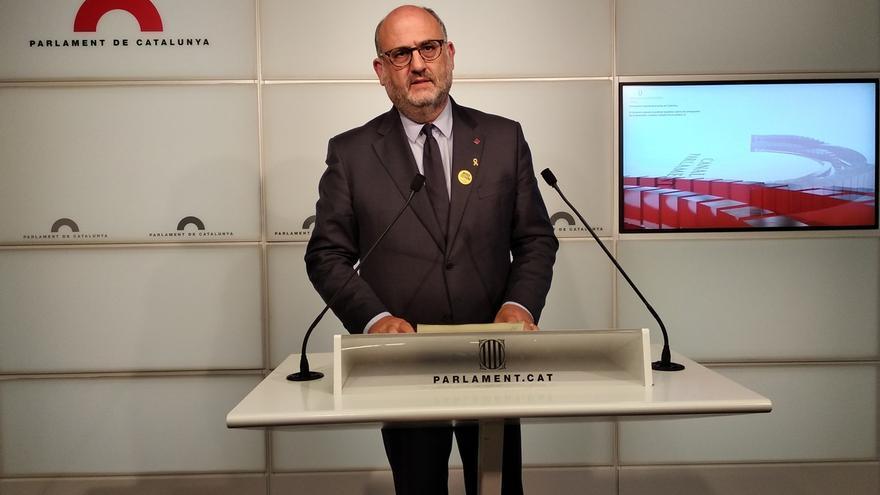 "Eduard Pujol (JxCat) considera que discutir sobre listas de espera es ""un fracaso de país"""