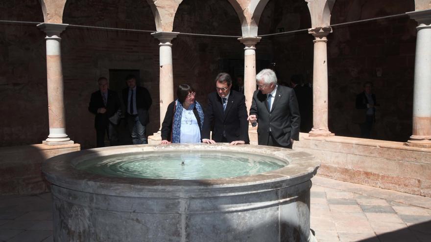 """Mas lamenta que algunos intentan poner """"pieles de plátano"""" al 'derecho a decidir' de Cataluña"""