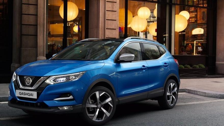 Nissan Qashqai, el modelo de SUV urbano más vendido en 2018.