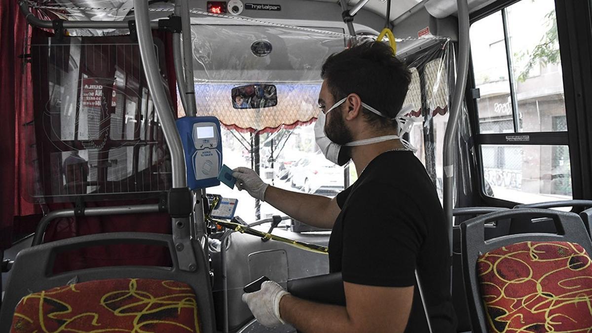 Monitoreo de viajes en transporte público en AMBA.