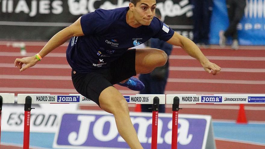 Jonay Jordan es uno de los deportistas de élite dentro del atletismo de Canarias.